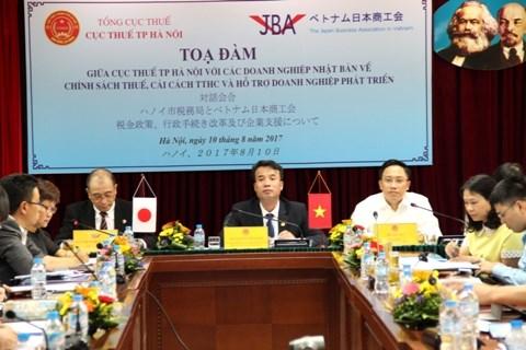 Hà Nội tọa đàm về chính sách thuế với doanh nghiệp Nhật Bản