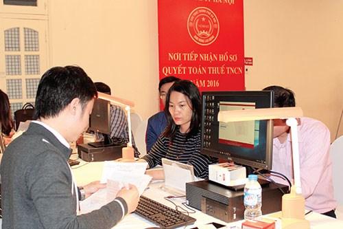 Cục Thuế Hà Nội nỗ lực tối đa để hoàn thành thu ngân sách