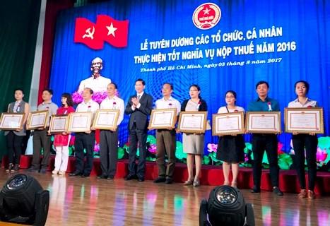 TP. Hồ Chí Minh: Nợ thuế giảm 7,2%