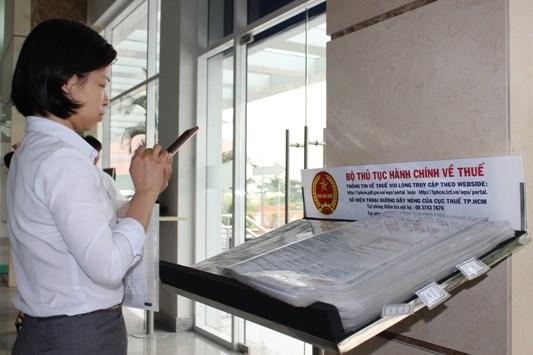 Triển khai dịch vụ một cửa điện tử tại cơ quan thuế