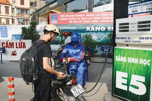 Hoàn thuế tiêu thụ đặc biệt cho xăng E5 là hợp lý