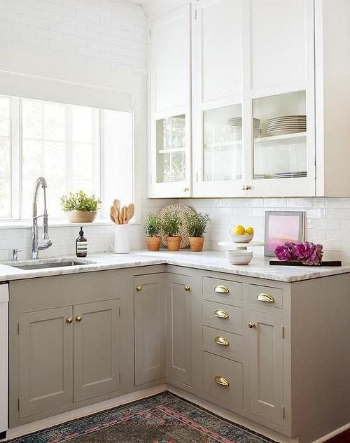 9 ý tưởng cải thiện không gian bếp nhỏ hẹp - Ảnh 2