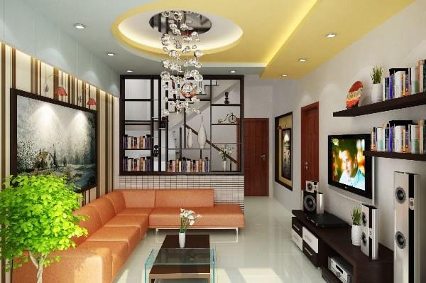 Nguyên tắc thiết kế nội thất phòng khách nhà ống - Ảnh 1
