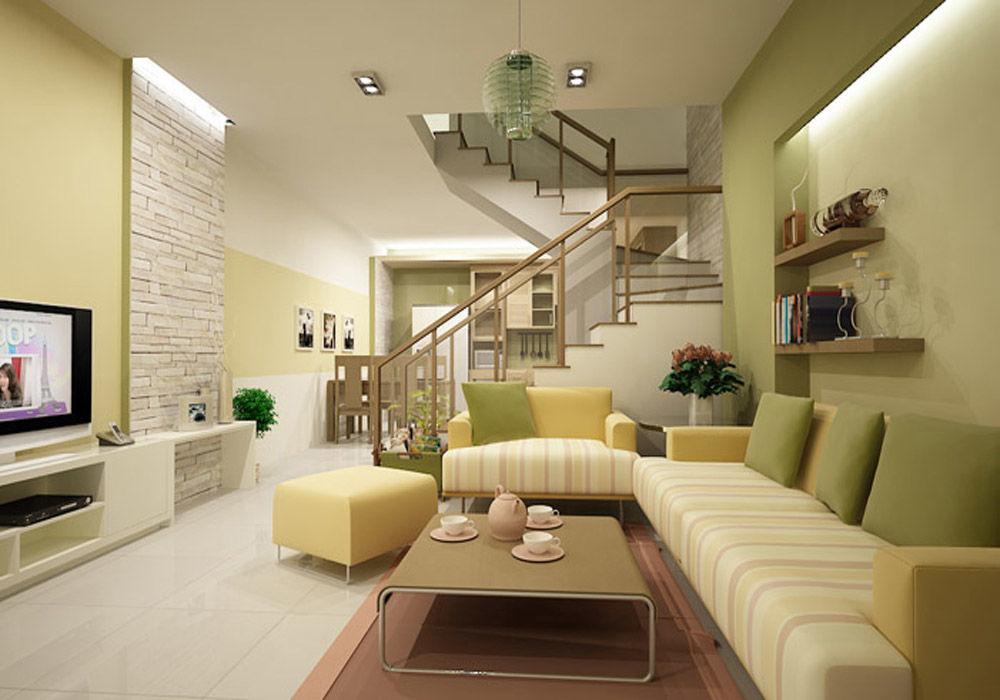 Nguyên tắc thiết kế nội thất phòng khách nhà ống - Ảnh 5