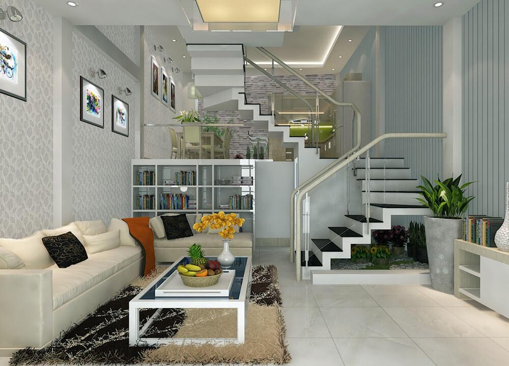 Nguyên tắc thiết kế nội thất phòng khách nhà ống - Ảnh 6