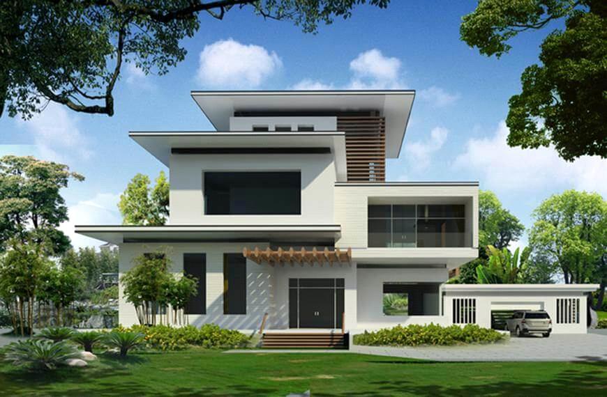 Một số lưu ý trong thiết kế và xây dựng biệt thự nhà vườn - Ảnh 1
