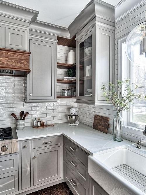Những bí quyết đơn giản giúp căn bếp nhỏ hẹp trở nên rộng thoáng - Ảnh 1