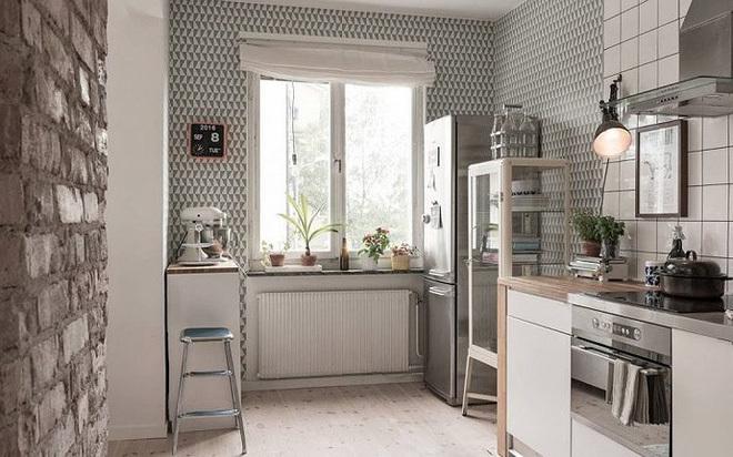 Những bí quyết đơn giản giúp căn bếp nhỏ hẹp trở nên rộng thoáng - Ảnh 6