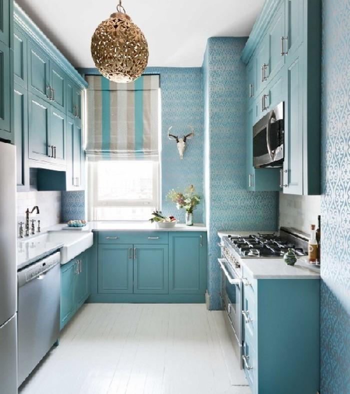Những bí quyết đơn giản giúp căn bếp nhỏ hẹp trở nên rộng thoáng - Ảnh 7