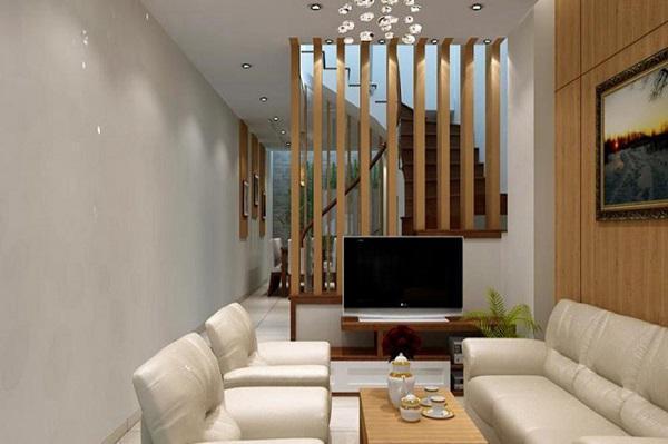 Những ý tưởng thiết kế nội thất phòng khách nhà ống năm 2019 - Ảnh 3