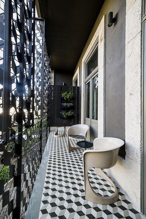 Ý tưởng trang trí ban công chung cư vừa đẹp vừa an toàn - Ảnh 3