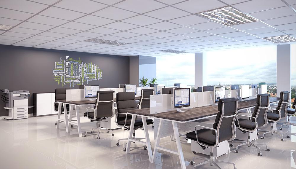 Cách thiết kế nội thất văn phòng phù hợp xu hướng hiện nay - Ảnh 2