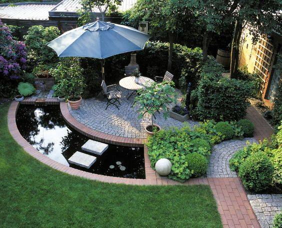 Cách thiết kế sân vườn biệt thự theo phong cách hiện đại - Ảnh 1