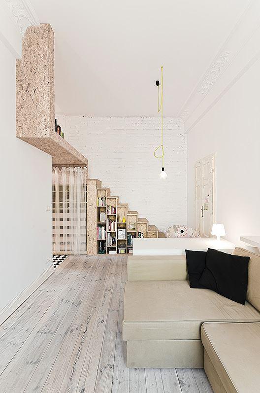 Nhà nhỏ bỗng rộng thênh thang nhờ thiết kế thông minh - Ảnh 5