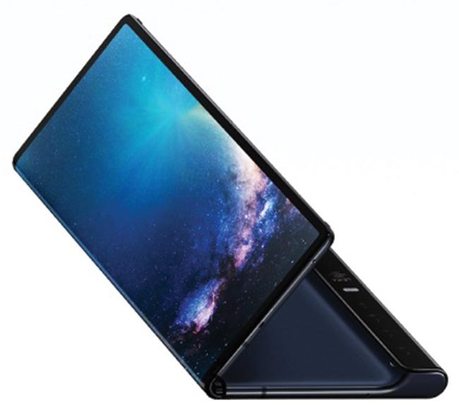 Điện thoại màn hình gập Mate X của Huawei.