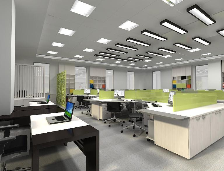 Cách trang trí nội thất văn phòng công ty hiện đại - Ảnh 1