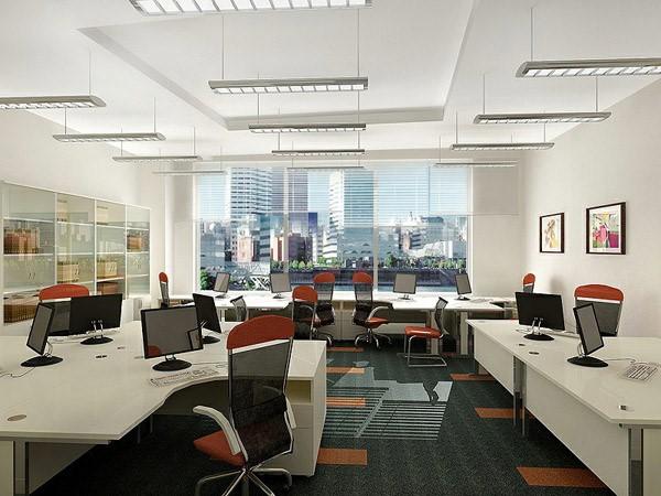 Cách trang trí nội thất văn phòng công ty hiện đại - Ảnh 3