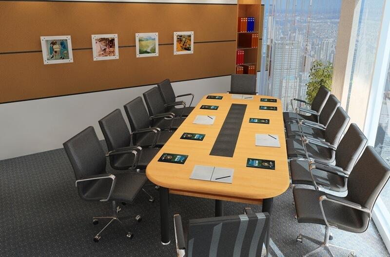 Cách trang trí nội thất văn phòng công ty hiện đại - Ảnh 5