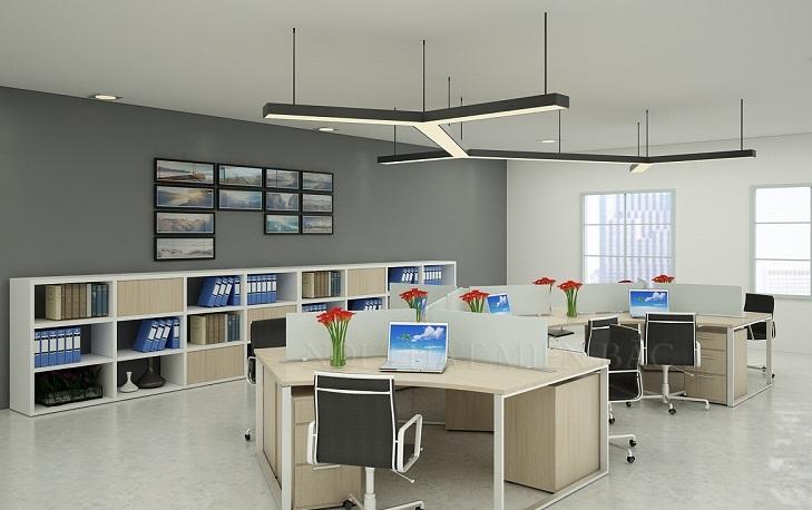 Cách trang trí nội thất văn phòng công ty hiện đại - Ảnh 6