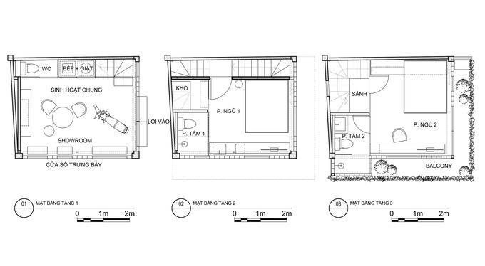 """Đất 18 m2, gia chủ Sài Gòn làm nhà """"ba trong một"""" - Ảnh 3"""