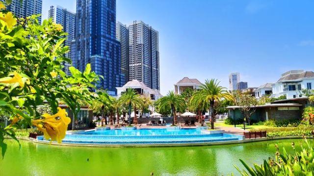 bất động sản hạng sang và nghỉ dưỡng sẽ hưởng lợi từ sự gia tăng của tầng lớp trung lưu, người giàu. Ảnh: Shutterstock.