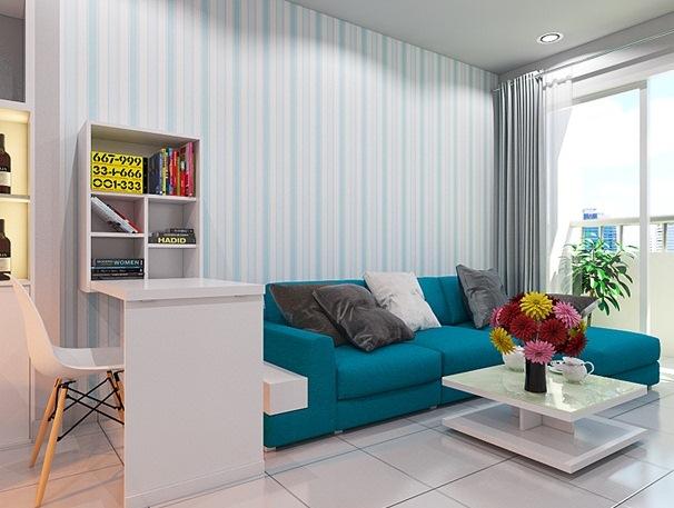 Cách thiết kế phòng khách căn hộ chung cư có diện tích nhỏ - Ảnh 1