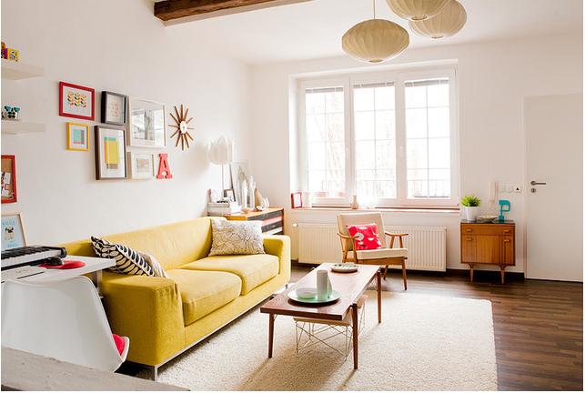 Cách thiết kế phòng khách căn hộ chung cư có diện tích nhỏ - Ảnh 2