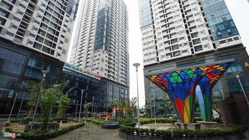 20 tòa chung cư chen chúc trên tuyến đường 720 m tại Hà Nội - Ảnh 6
