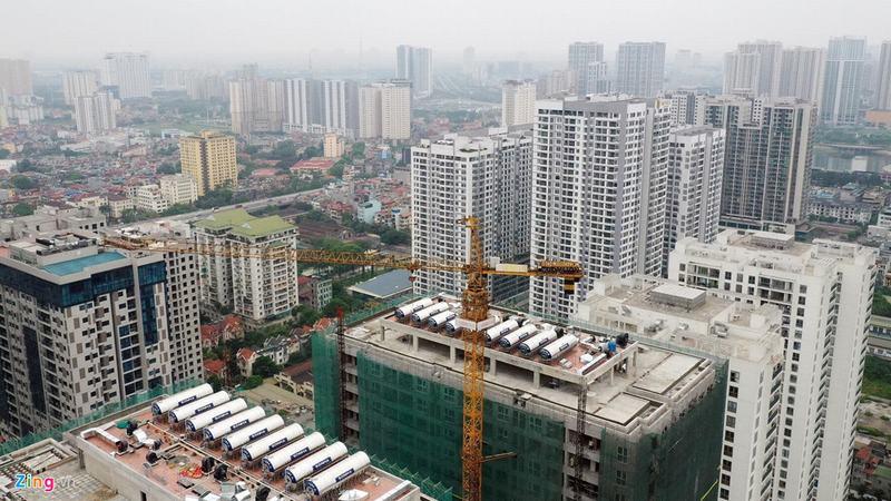 20 tòa chung cư chen chúc trên tuyến đường 720 m tại Hà Nội - Ảnh 8