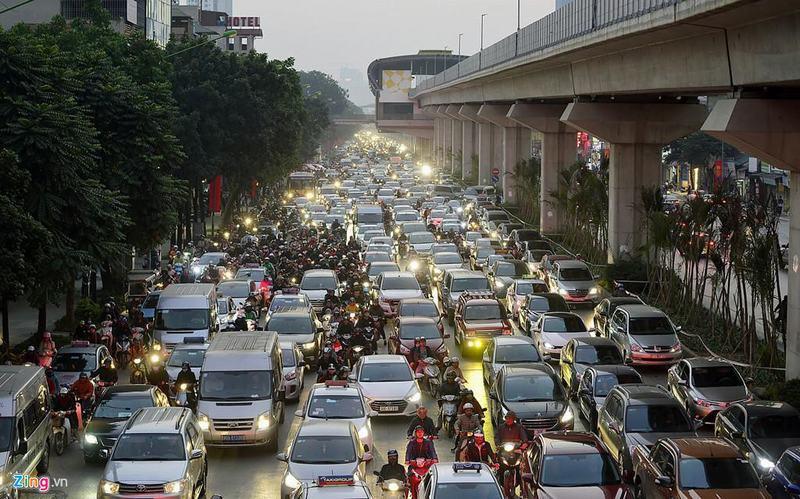 20 tòa chung cư chen chúc trên tuyến đường 720 m tại Hà Nội - Ảnh 10