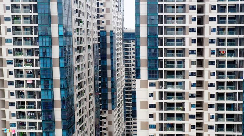 20 tòa chung cư chen chúc trên tuyến đường 720 m tại Hà Nội - Ảnh 12