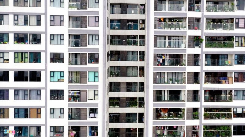 20 tòa chung cư chen chúc trên tuyến đường 720 m tại Hà Nội - Ảnh 13