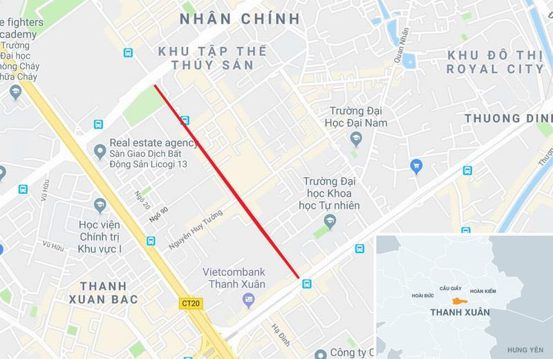 20 tòa chung cư chen chúc trên tuyến đường 720 m tại Hà Nội - Ảnh 14