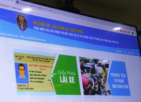 Tra cứu xe vi phạm trên trang web Cục Cảnh sát giao thôngtừ 1/6 - Ảnh 2