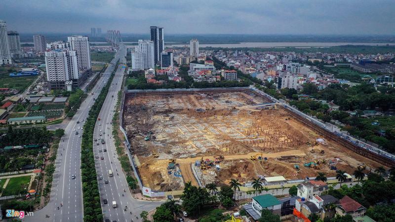 """""""Rừng chung cư"""" dọc tuyến đường ngoại giao ra sân bay Nội Bài - Ảnh 6"""