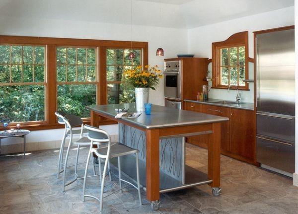 Cách bố trí bàn ăn cho phòng bếp nhỏ hẹp - Ảnh 3