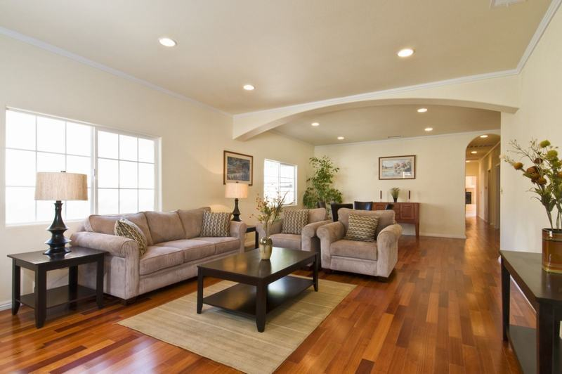 Nguyên tắc thiết kế nội thất kết hợp sàn gỗ và đồ nội thất - Ảnh 1