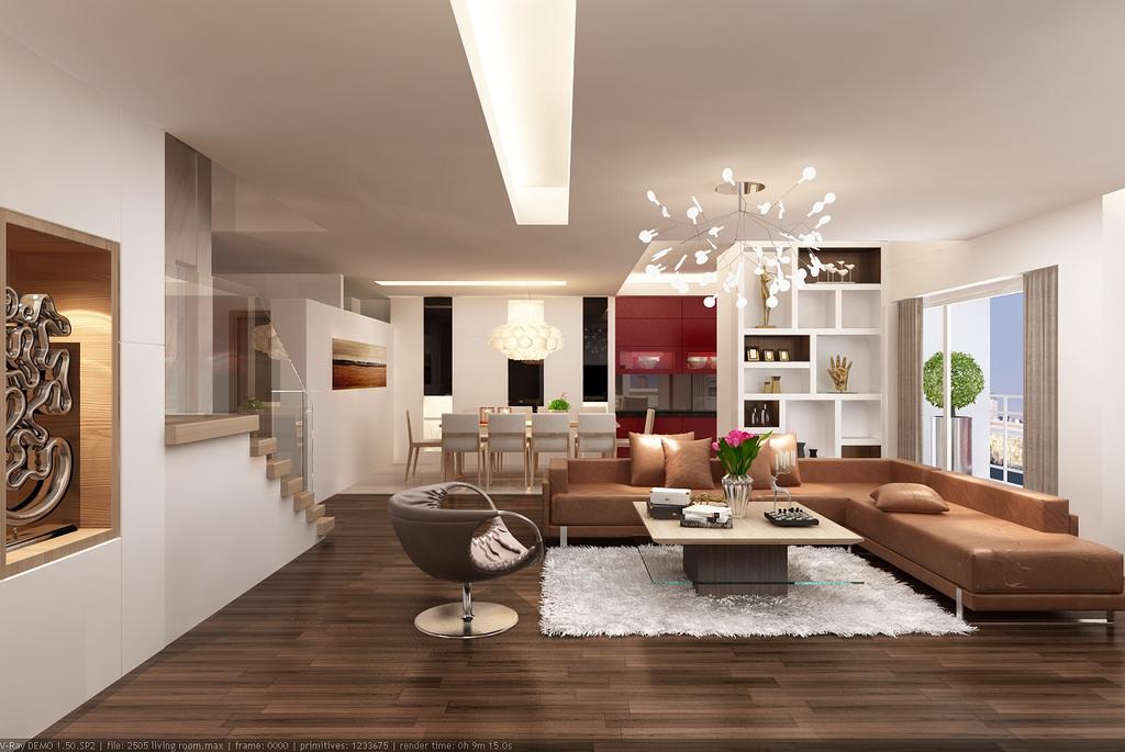 Nguyên tắc thiết kế nội thất kết hợp sàn gỗ và đồ nội thất - Ảnh 3