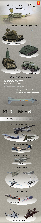 [Infographics] Mỹ nghi ngờ Nga âm thầm chuyển sát thủ diệt máy bay Tor-M2U tới Libya - Ảnh 1
