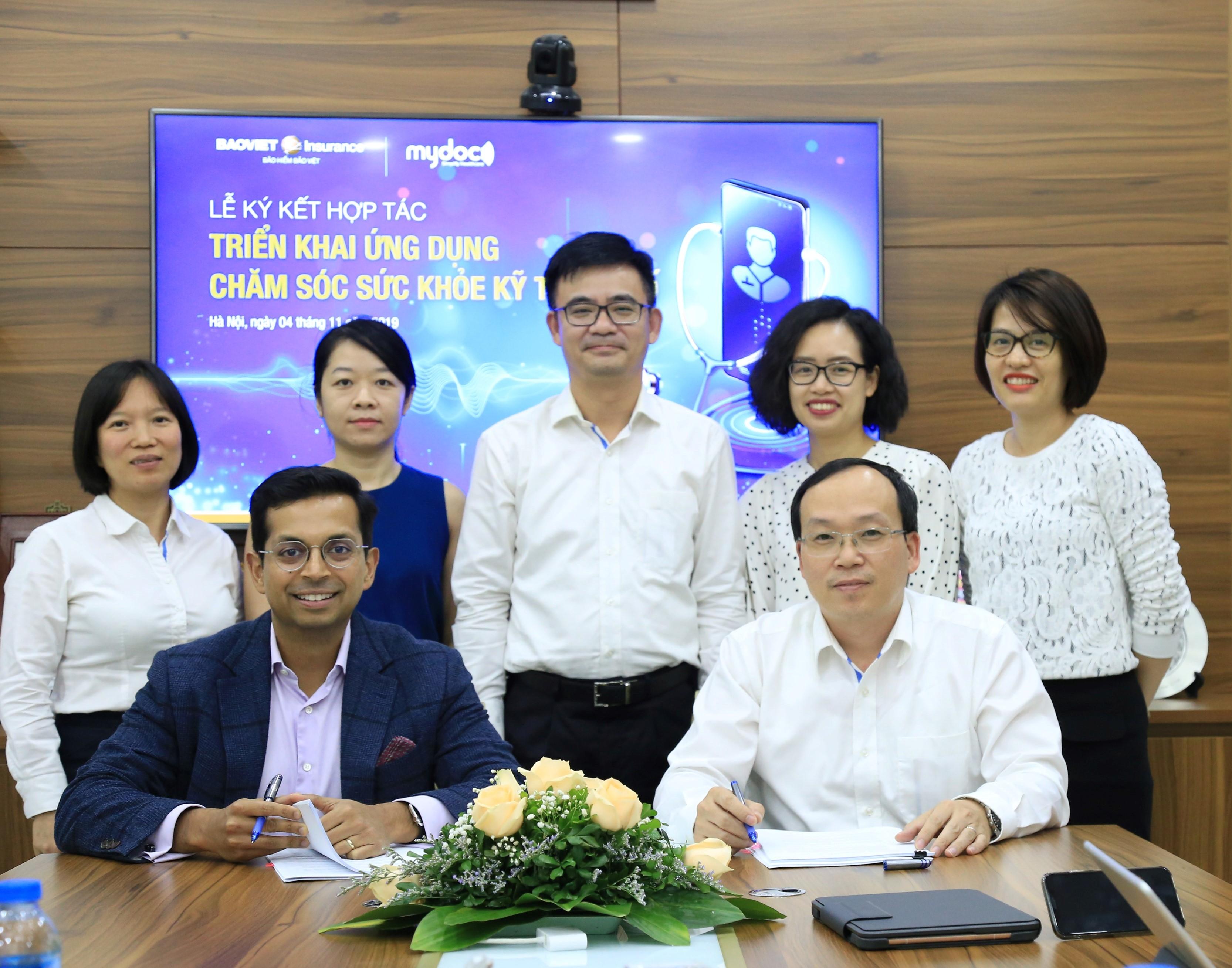 Tổng Công ty Bảo hiểm Bảo Việt chính thức ký kết hợp tác cùng MyDoc.