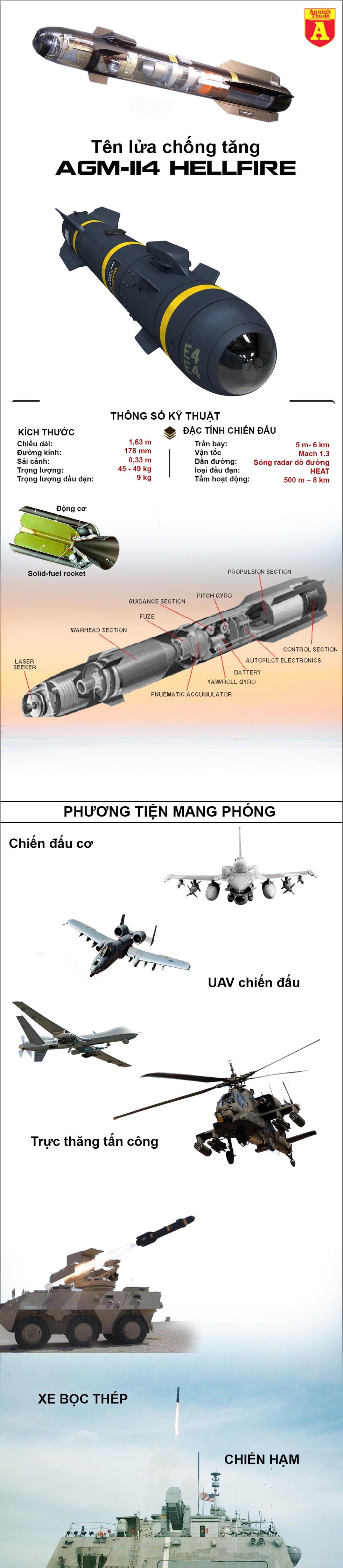"""[Infographics] Chiến đấu cơ Mỹ vừa đánh rơi tên lửa """"hỏa ngục"""" xuống Nhật Bản - Ảnh 1"""