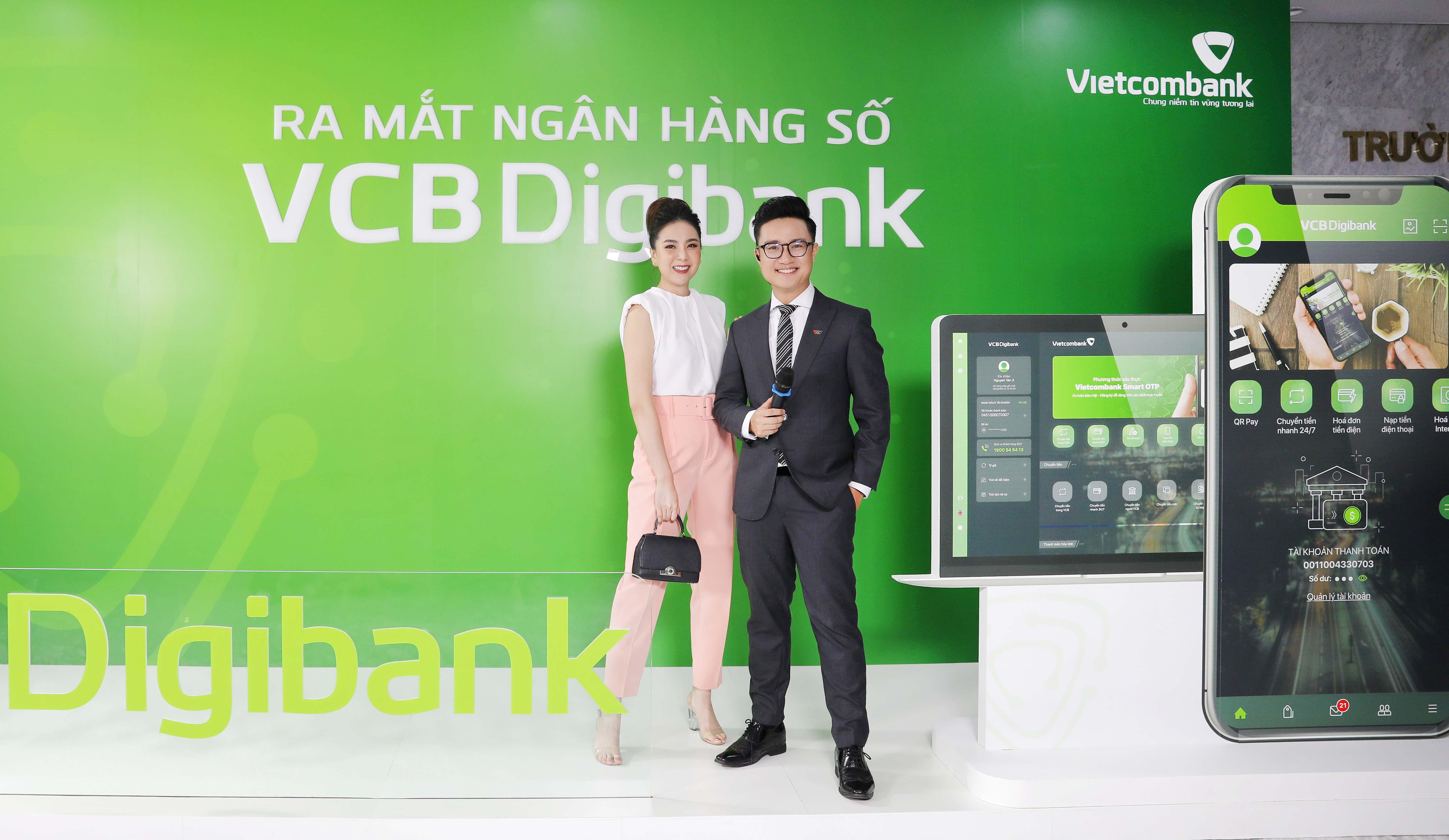 VCB Digibank được bổ sung công nghệ xác thực đăng nhập mới - Push Authentication.