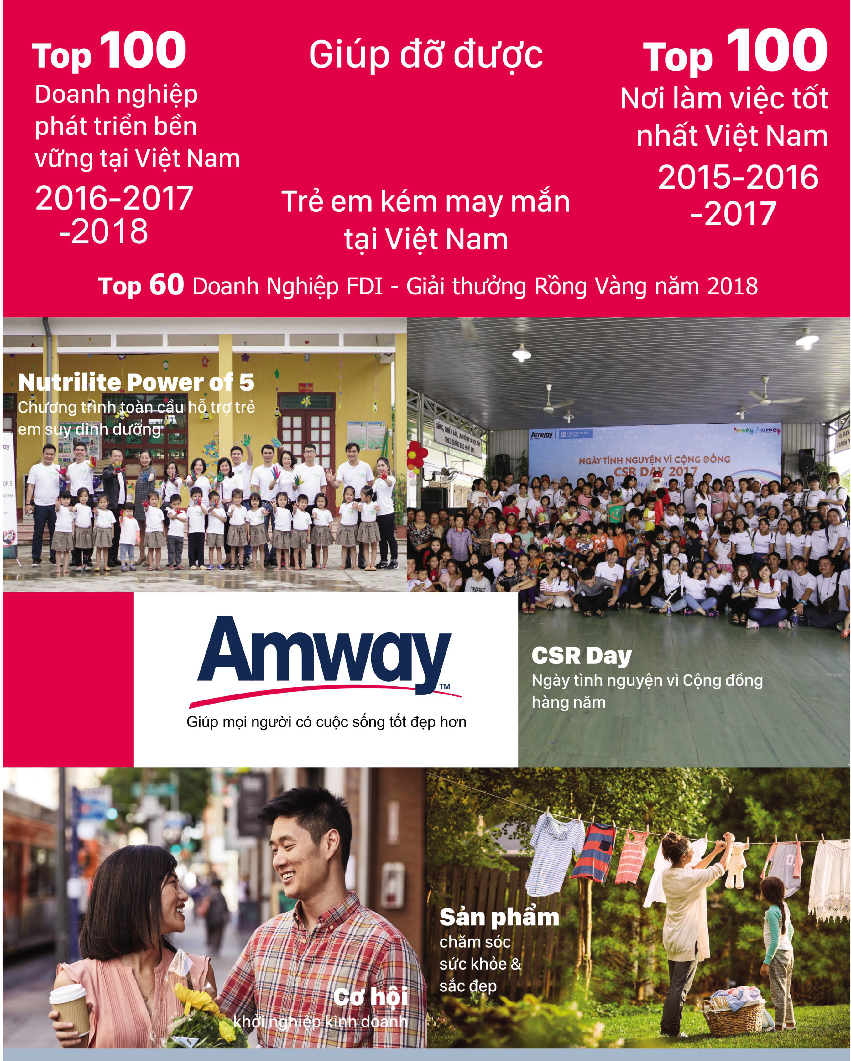 Amway: Nối tiếp hành trình yêu thương - Ảnh 1