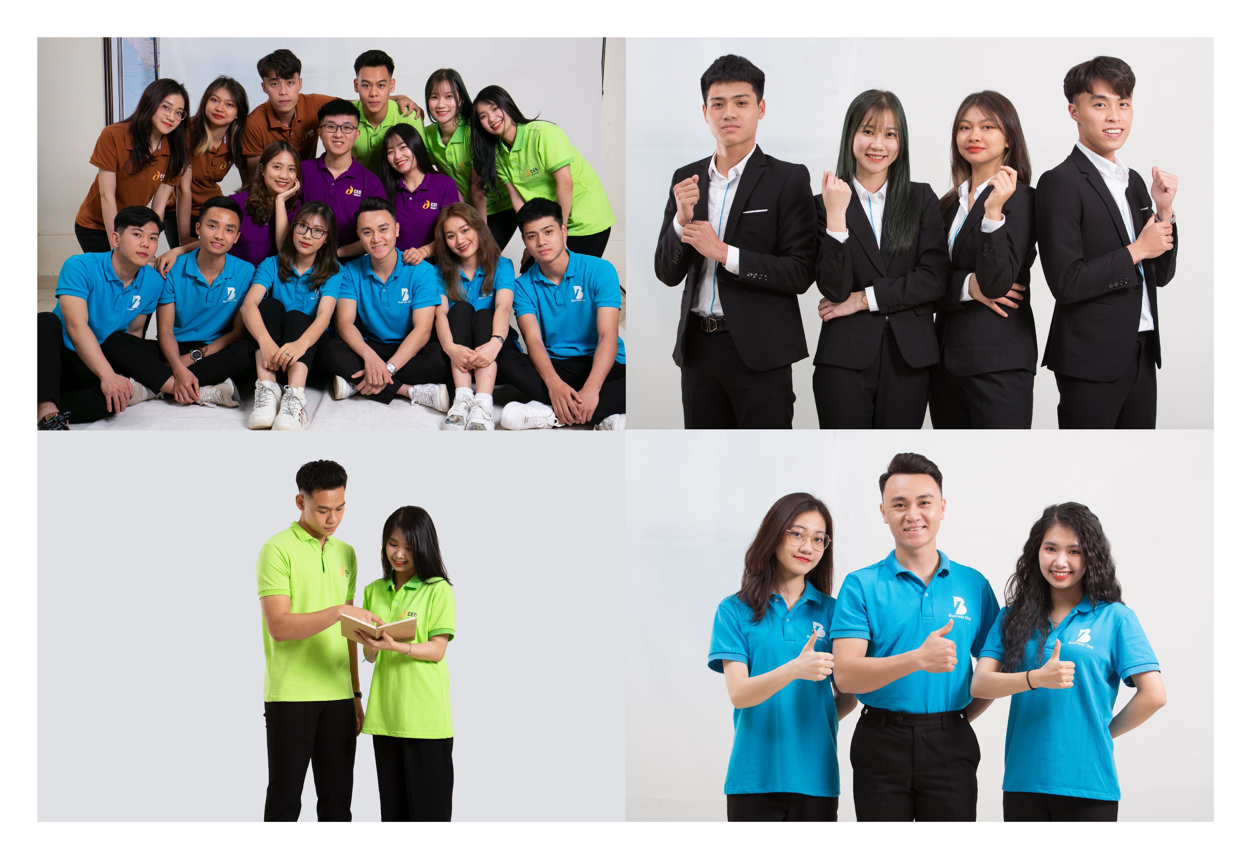 Một số hình ảnh sinh viên Trường Doanh nhân CEO Việt Nam.