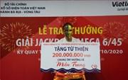 Chủ nhân Jackpot tại Bình Dương ủng hộ đồng bào miền Trung