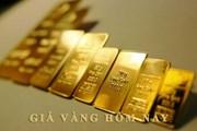 Giá vàng tiếp tục tăng trong phiên cuối tuần