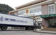 Gửi hồ sơ doanh nghiệp xuất khẩu sang Trung Quốc trước ngày 26/10