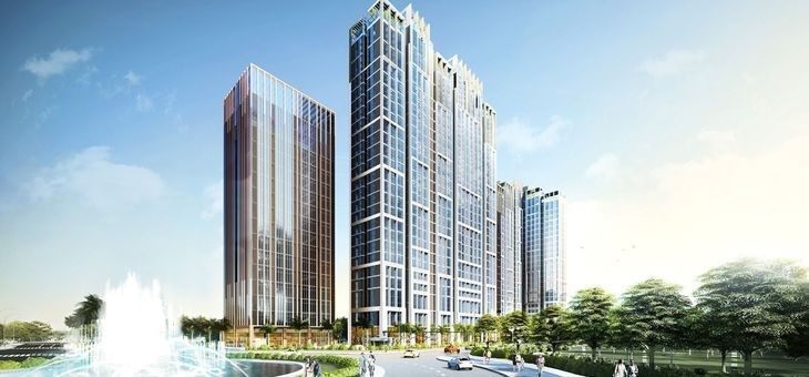 Dự án Citi Alto được tạo tác từ cảm hứng phong cách kiến trúc đương đại của Tập đoàn Kiến Á sẽ tạo điểm nhấn Khu đô thị Cát Lái. Ảnh Thùy Dung