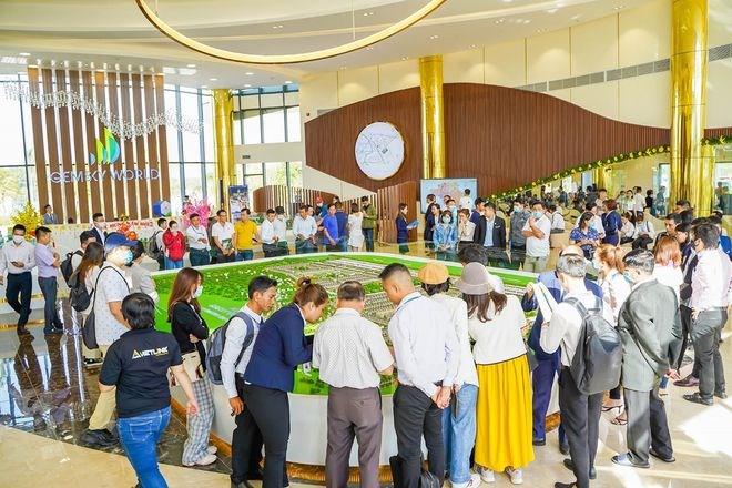 """Khu đô thị Gem Sky World mở ra cơ hội đầu tư và an cư đầy tiềm năng tại """"thành phố sân bay"""". Ảnh Đất Xanh."""