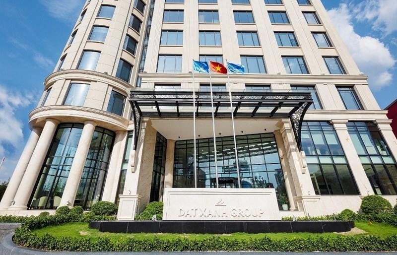 Trụ sở Tập đoàn Đất Xanh tại TP. Hồ Chí Minh. Ảnh Thái Bình